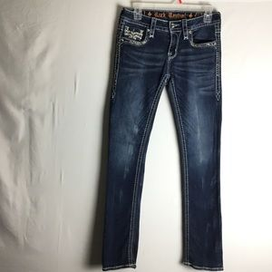 Rock Revival Mid-Rise Straight Jeans Sz 26X31